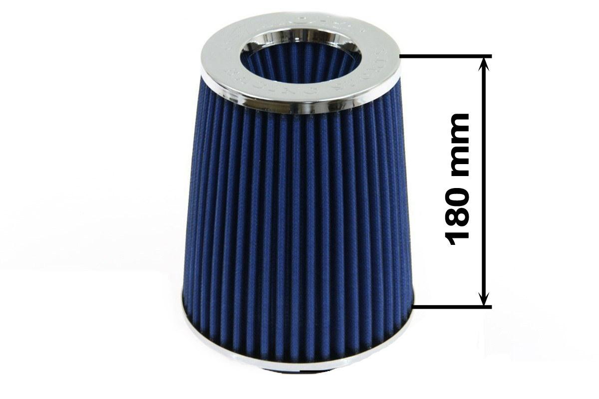 Filtr stożkowy SIMOTA JAUWS-018A 84mm Blue - GRUBYGARAGE - Sklep Tuningowy